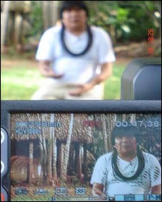 Almir, líder dos Suruí
