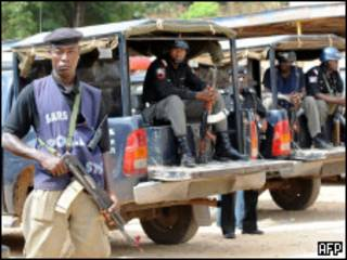Seguridad cerca de la ciudad de Jos, Nigeria, tras los enfrentamientos