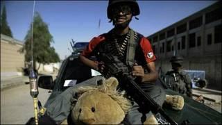 Policía Afgano. Foto: Guillermo Cervera