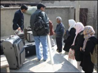 کابل قبل از حرکت