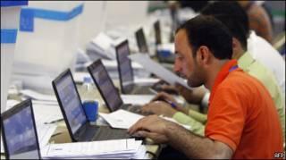 В независимой верховной избирательной комиссии Ирака