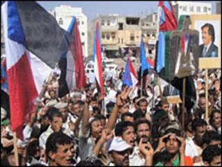 احتجاجات في جنوب اليمن