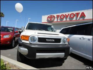 Concesionario de Toyota en California