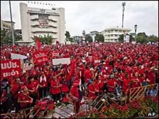 تظاهرات معترضان دولت تایلند