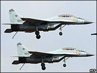 Индийские пилоты на самолетах МиГ-29