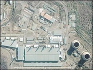 Planta nuclear Pelibanda en Sudáfrica (Foto: GeoEye)