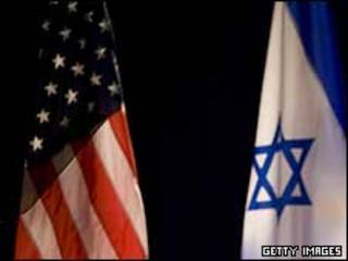 Quốc kỳ Israel và Hoa Kỳ