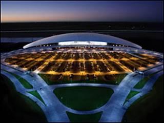 El Aeropuerto Internacional de Carrasco, Uruguay