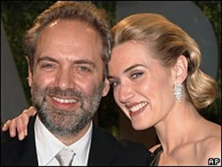 Kate Winslet y su marido, el director de cine Sam Mendes