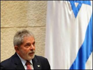 Lula em Israel