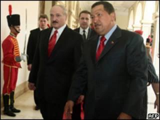 Chávez fez a declaração durante visita do presidente de Belarus, Alexander Lukashenko