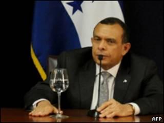 Profirio Lobo, presidente de Honduras