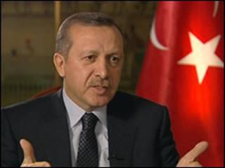 رئيس الوزراء التركي