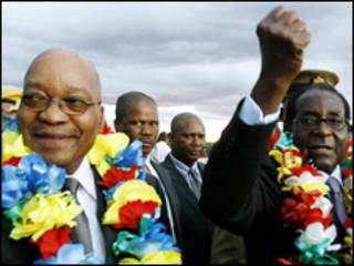 زوما و موگابه