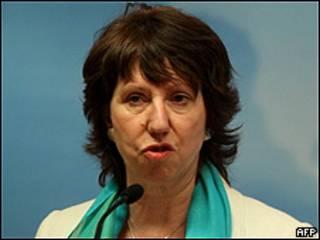 La responsable de la política exterior de la Unión Europea (UE), la británica Catherine Ashton