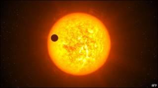 Экзопланета CoRoT-9b