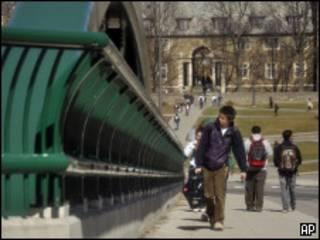 Vista da Universidade de Cornell (AP /Heather Ainsworth)