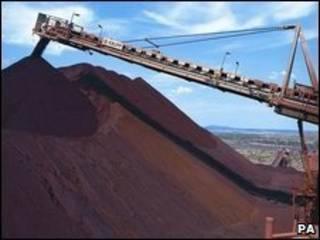 Mina de Rio Tinto en Australia