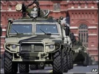 Военный парад в Москве 9 мая 2009 года