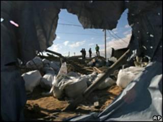 Ataques aéreos israelíes a Gaza