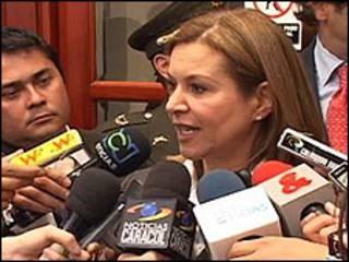 Noemí Sanin, aspirante a la presidencia de Colombia.(foto cortesía noemipresidenta.com)
