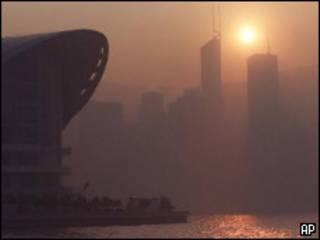 Смог в Гонконге