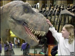 Модель динозавра