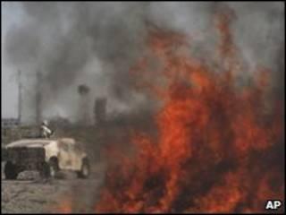 سوزاندن مواد اعتیادآور در مکزیک