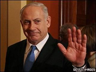 Benjamin Netanyahu, primer ministro israelí