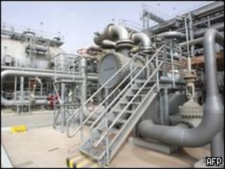 Instalação petroleira