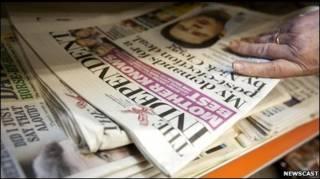 Газета Independent