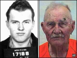 Frank Dryman em 1955 e em 2010