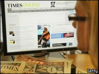 التايمز على الإنترنت