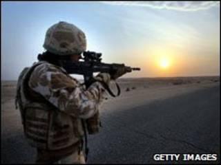 جندي أمريكي في العراق