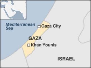 Peta Israel Gaza
