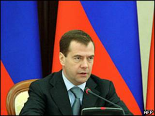 Presidente de Rusia, Dmitri Medvedev
