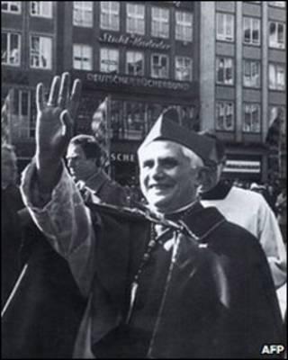 Papa Benedicto, foto de archivo