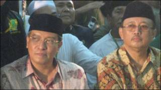Said Aqil Siradj (kiri), Slamet Effendy Yusuf