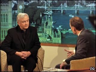 Vincent Nichols em programa da BBC