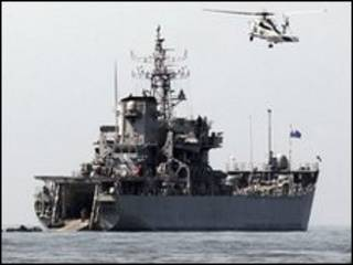 کشتی امدادی کره جنوبی، 29 مه 2010