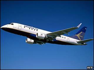 Avião da Embraer (arquivo)