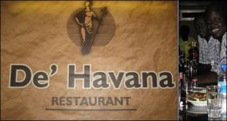 Cartel del club De'Havana