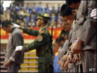 Публичная казнь в КНР