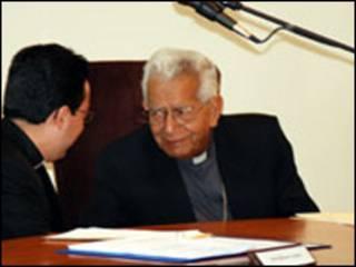 Cardenal Julio Terrazas (Foto Comision Episcopal de Comunicacion)