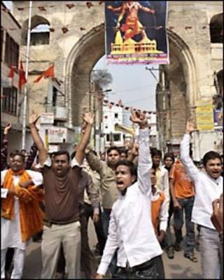 ہندوستان میں فرقہ وارانہ فسادات کی ایک فائل فوٹو