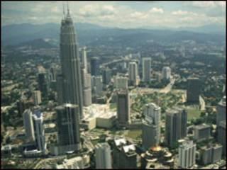 Suasana kota di Malaysia