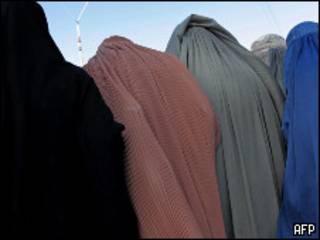 Женщины в парандже