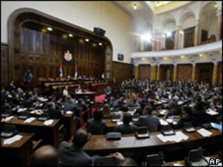 Parlamento de Serbia