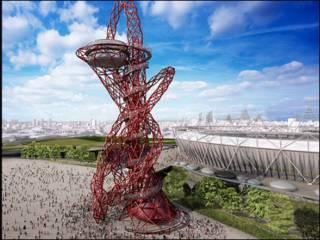 Скульптура в виде спирали, спроектированная художником Анишем Капуром