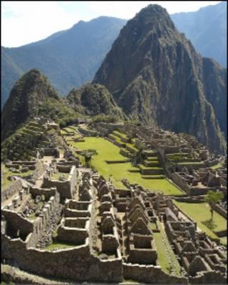 Вид на Мачу-Пикчу